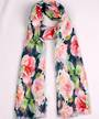 Alice & Lily printed  scarf floral blush Style:SC/4744BLSH