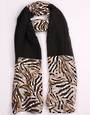 Alice & Lily printed  scarf  black Style:SC/4757BLK