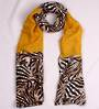 Alice & Lily printed  scarf  mustard Style:SC/4757MUS