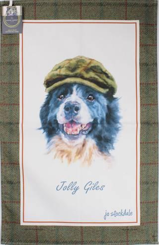 Samuel Lamont 'Jolly Giles' tea towel Code : TT-501