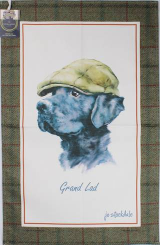 Samuel Lamont 'Grand Lad' tea towel Code : TT-502