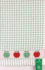 Samuel Lamont poli dri green apple  tea towel Code:TT-706JAPPLE