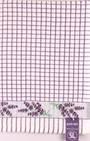 Samuel Lamont poli dri lavender sprigs  tea towel Code:TT-706JLAV