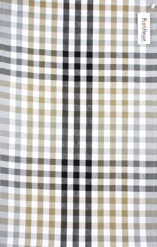 Tea towel 'Atlanta check' silver Code: T/T- ATL/CHK/SIL