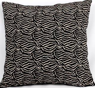Savanna filled cushion 42x42cm black Code: CUS-SAV