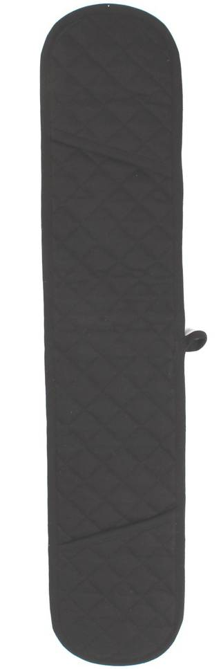 Double mit oven glove solid black Code: DM-HH/SBLK
