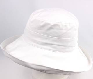 Classic cotton noosa hat white Code:HS/5600 - 10 COLOURS