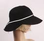 HEAD START linen packable hat black Style: HS/4664/BLK
