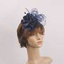 Headband fascinater w flower navy STYLE: HS/4680/NVY