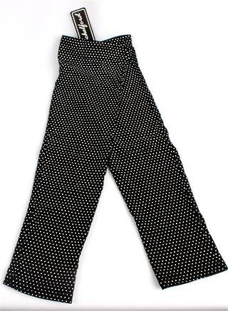 Ladies fingerless 3/4 length jersey glove black/white Code: S/LL3888