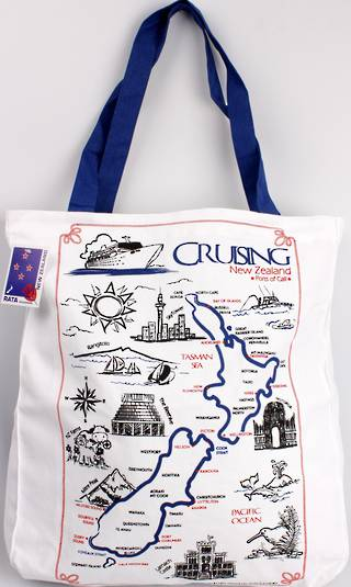 Carry bag Cruising New Zealand Code:S772-CRU/TOTE