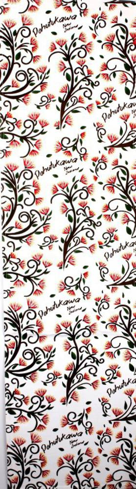 Table Runner Pohutukawa.  Code: T/R-POH