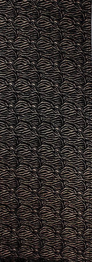 Savanna table runner 35x100cm black Code: T/R-SAV/100