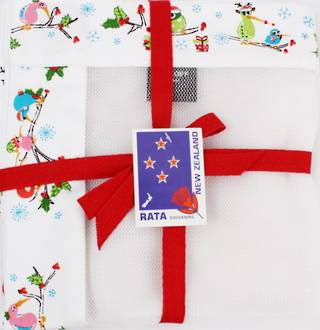 Food Cover 'Christmas Kiwis' Code: F/C-CH/CK