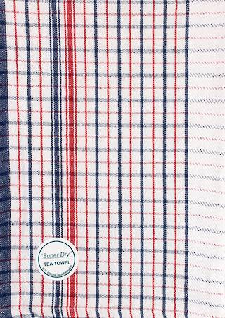 Super dry dobby tea towel 50x70cm blue Code:T/T-SDRY/BLU