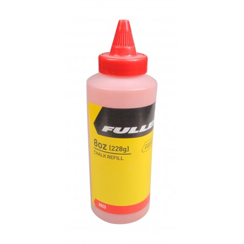 Fuller Marking Chalk 8oz Red