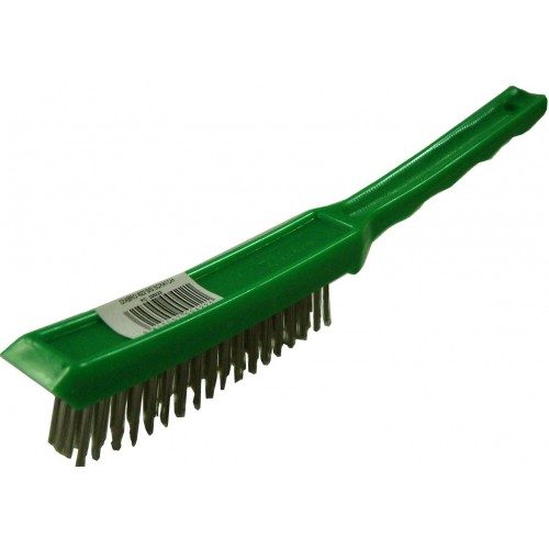 Wire Brush Stainless 4 Row