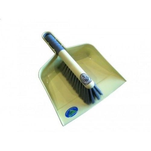 #120 Plastic Brush & Pan Set