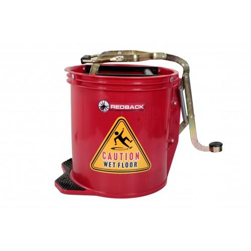 15Lt Plastic Wringer Bucket