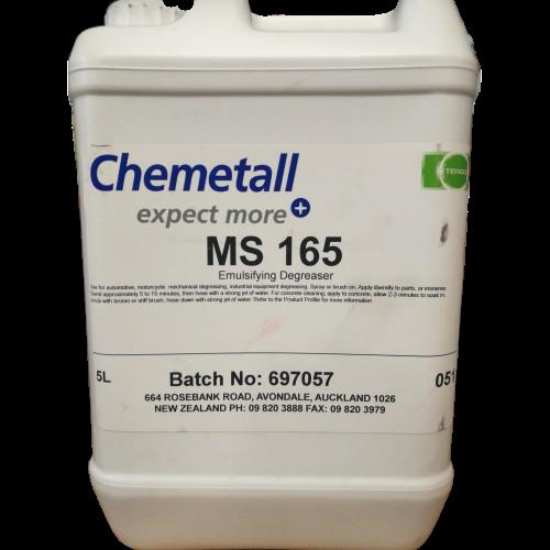 MS-165 Solvent Degreaser 5Ltr