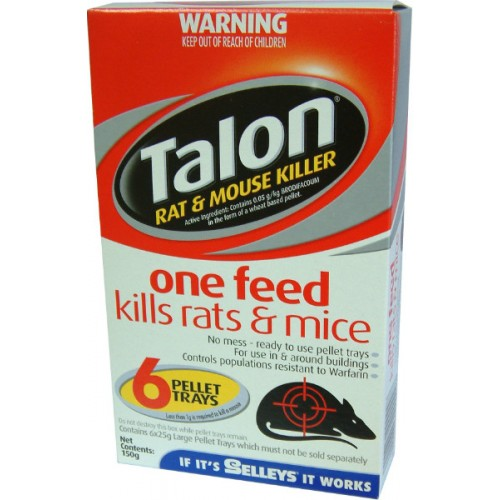 Talon Rat & Mouse Killer -150g