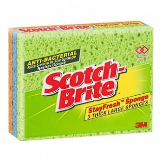 (3Pack) ScotchBrite Sponge