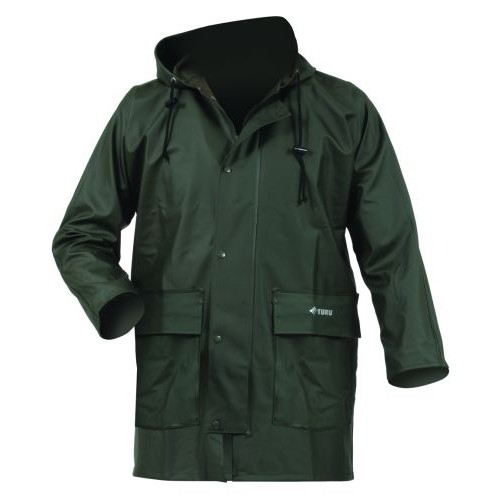2T PVC Olive Zipped Jacket