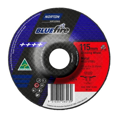 115x6x22 Metal Grinding Disc