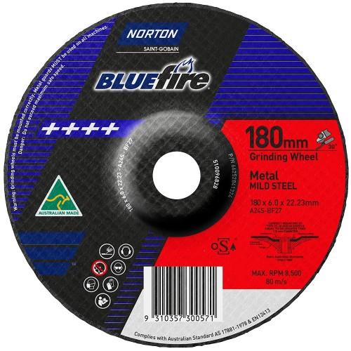 180x6x22 Metal Grinding Disc