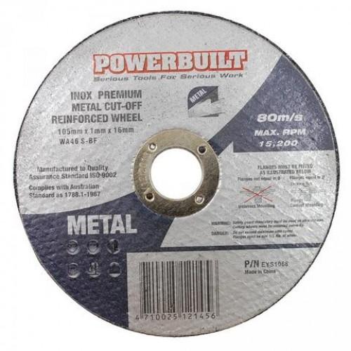 100mm Inox Metal Cut Off Disc