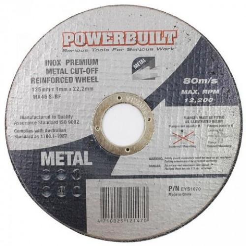 125mm Inox Metal Cut Disc