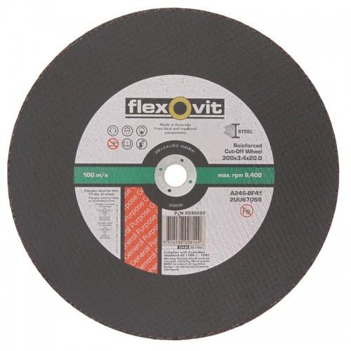 300x3.4x20 Metal Cut Off Disc