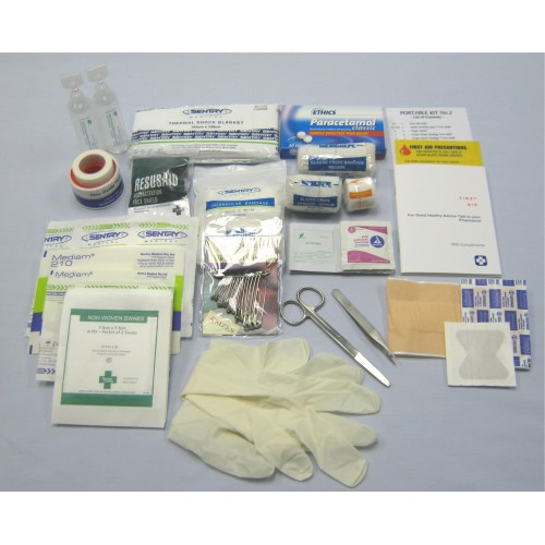 First Aid Kit Contents #2