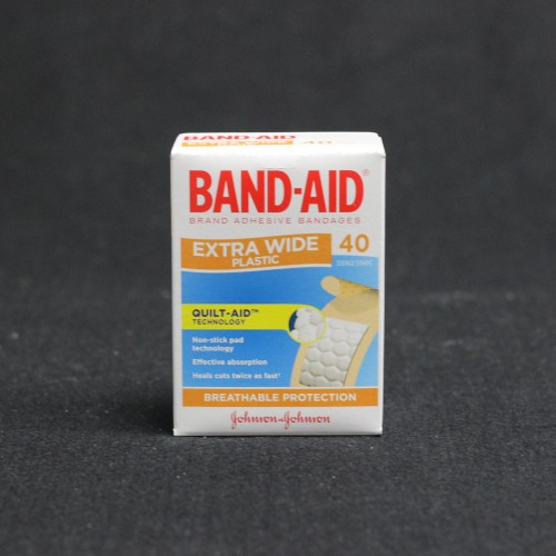 Bandaid Wide Plasters 40's