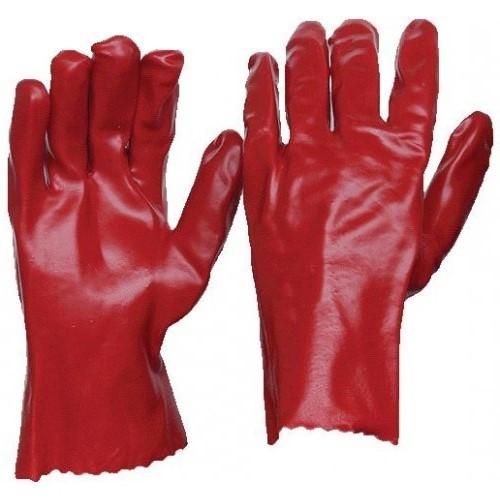 270mm Red PVC Gloves