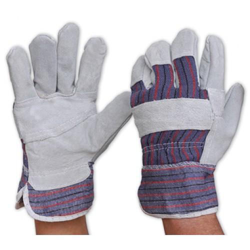 Yellow/Grey Work Gloves