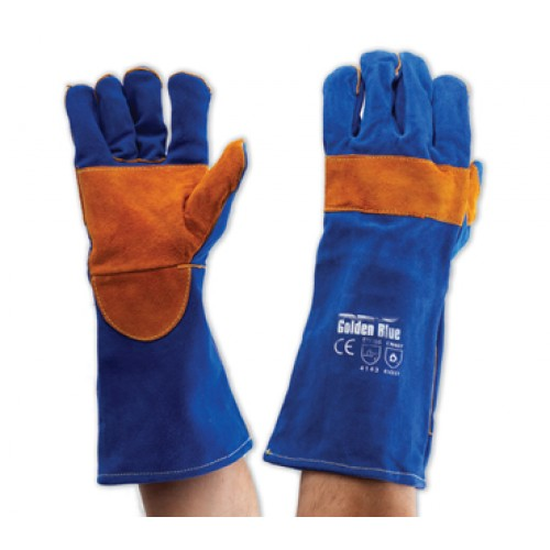 Red  Welders Gloves