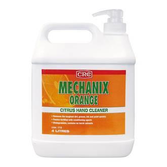 4L CRC Mechanic Orange Hand Cleaner