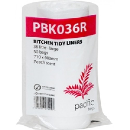 White Kitchen Tidy Liners -50