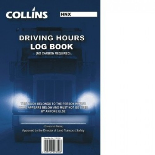 Driving Hours Log Book