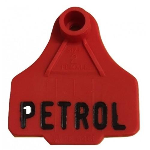 Plastic Fuel Can  ID Tag