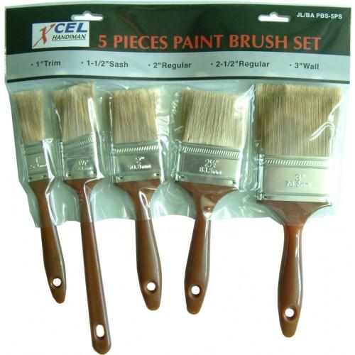 5Pce Paint Brush Set