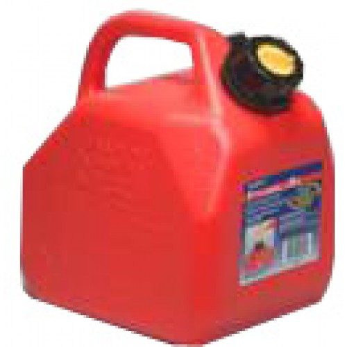 5Lt Petrol Can Red Sceptor