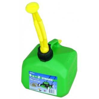 5Lt Petrol Can Green Scepter