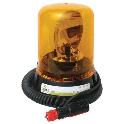Rotating Beacon 12/24V Amber