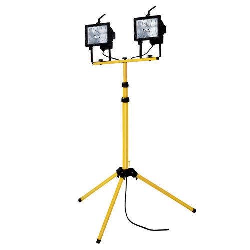 Twinhead Halogen Light & Stand