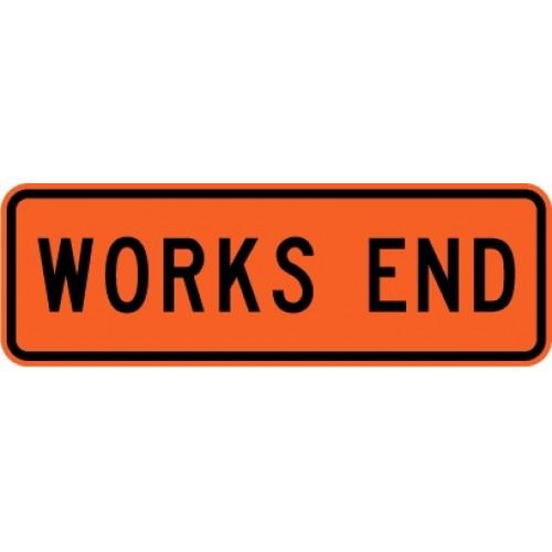Works End Road Sign 950x300 HI