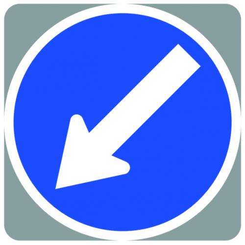 Aarow/Pedestrian Sign &Webbing