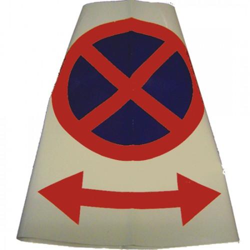 No Parking Cone Sleeve