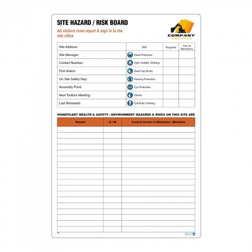 Hazard ID Board (10Line)